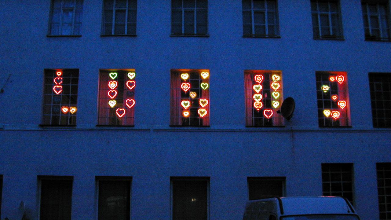 Luxus, dreiwoechiges Kunst- und Forschungsprojekt, 2003